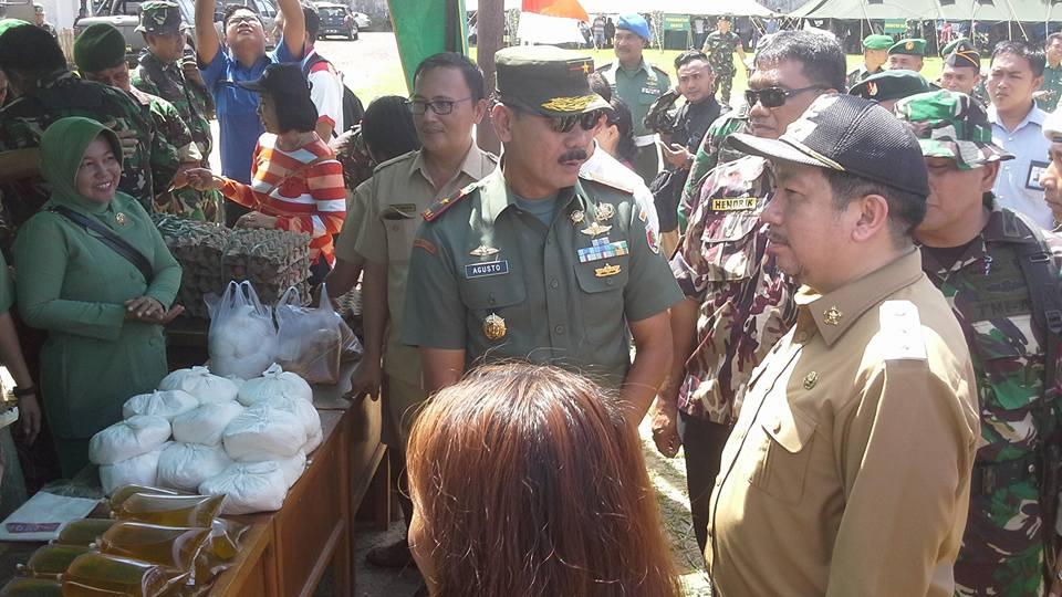 Pimpin Upacara, Mor : TMMD Pererat Hubungan Harmonis TNI dengan Masyarakat