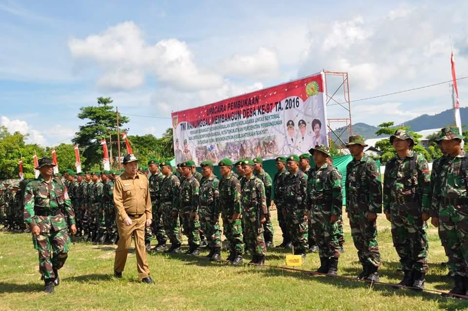 Bersama Rakyat, Kodim 1309/ Manado Siap Sukseskan TMMD ke-97
