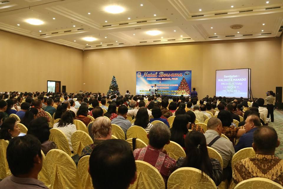 BKSAUA, FKUB dan Pemkot Manado Gelar Ibadah Pra-Natal