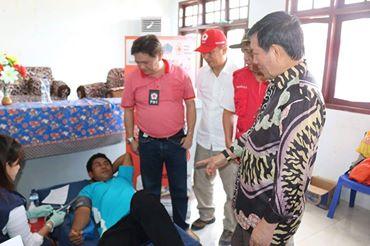 Respon Positif Aksi PMI di Kecamatan Bunaken Kepulauan, GSVL : Setetes Darahmu Selamatkan Sesama