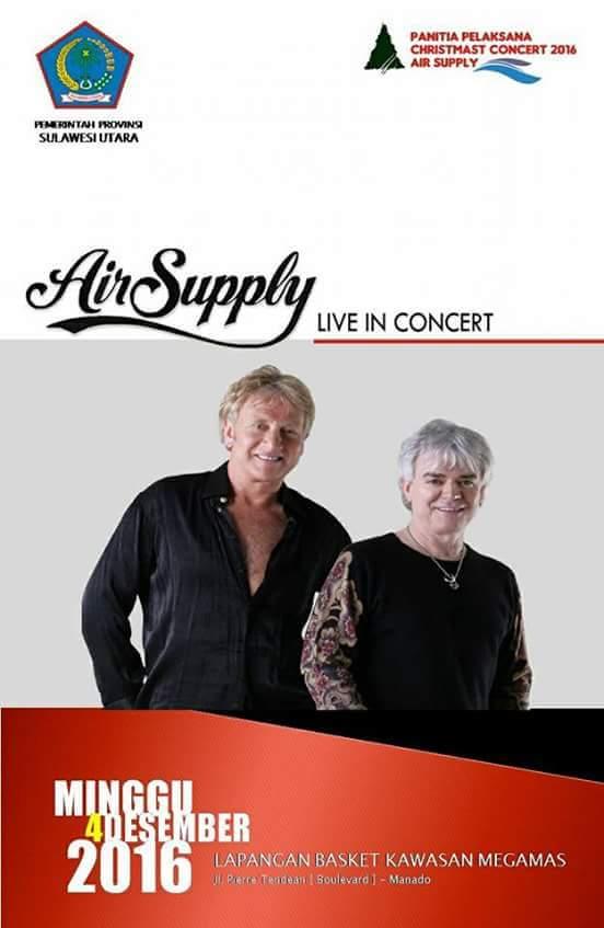 Permalink ke Christmas Concert Air Supply Siap Hentak Manado
