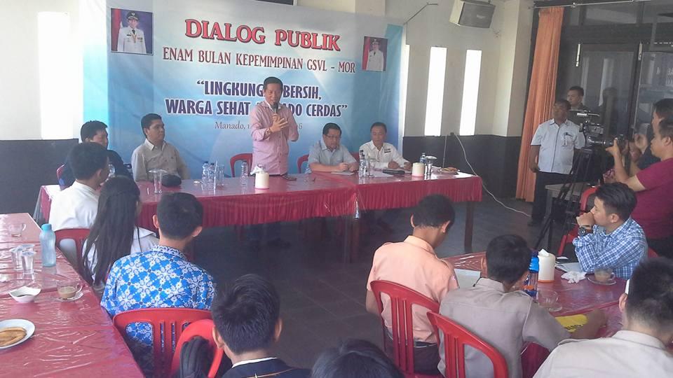 Permalink ke Dialog Publik 6 Bulan Kepemimpinan,  GSVL-MOR Terbuka Dikritik Masyarakat Manado