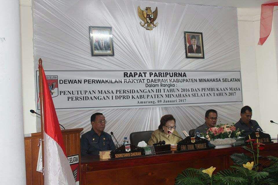 Permalink ke DPRD Minsel Gelar Rapat Paripurna Tutup Buka Masa Sidang