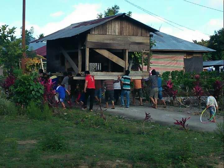 Permalink ke Budaya Gotong royong di Desa Rananan Baru Masih Kental