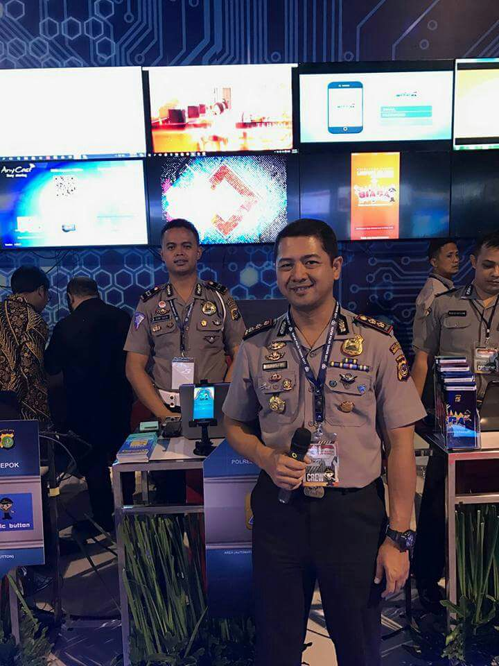 Wakili Polda Sulut, Polres Minsel Ikut Serta Dalam Pameran Teknologi Inovasi di Jakarta