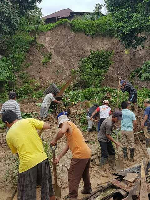 Permalink ke Akibat Hujan Deras, Enam Rumah di Desa Suluun Raya Dihantam Tanah Longsor/