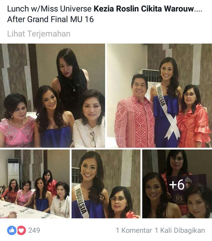Permalink ke Pemprov Sulut Komitmen Dukung Kezia Warouw di Kontes Miss Universe