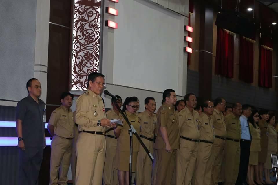 Permalink ke Pimpin Apel Perdana 2017, GSVL Tegaskan ASN Wajib Tingkatkan Pelayanan