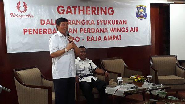 Permalink ke Penerbangan Manado – Raja Ampat, Disambut Baik Walikota GSVL