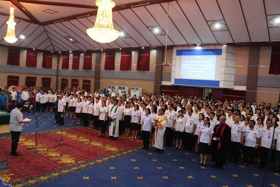 Lantik 549 Pejabat, Wawali Mor : Jabatan Bukan Hadiah