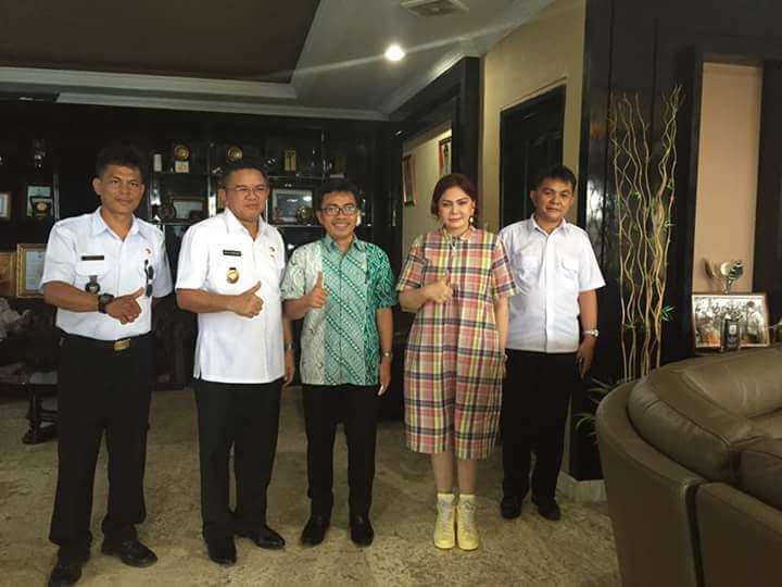 Permalink ke Anggota DPD RI Stefanus Liow Serap Aspirasi Di Pemkab Minut