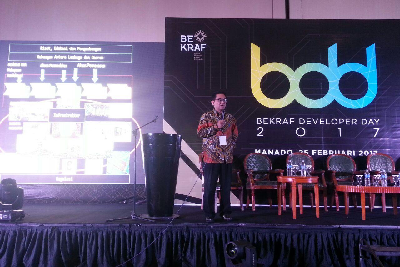 Permalink ke Awali di Manado, Bekraf Berupaya Lakukan Pemerataan Industri Digital Nusantara