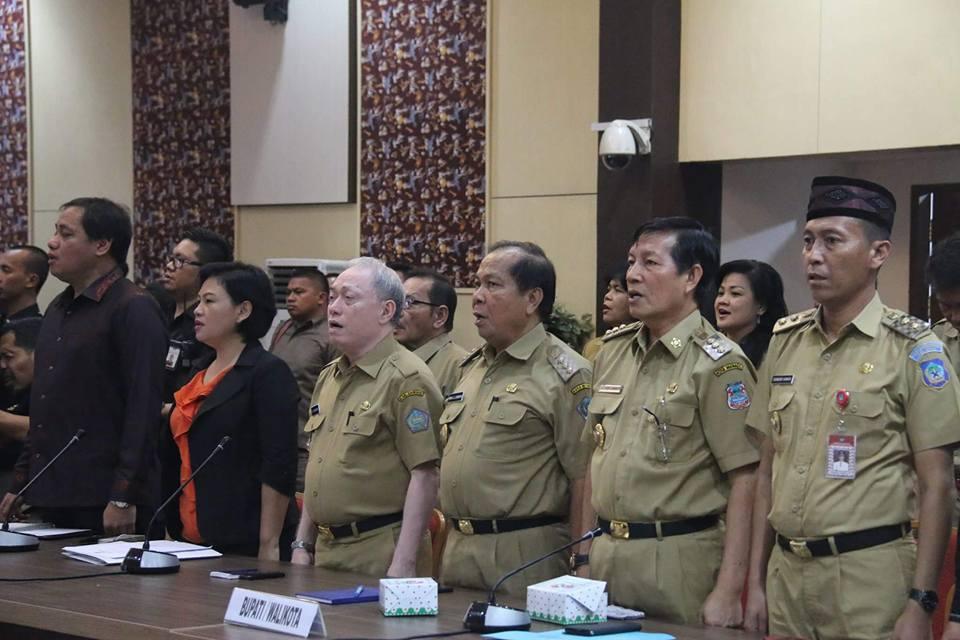 Permalink ke Kunker Komisi II DPR RI di Kantor Gubernur, Turut Dihadiri Walikota GSVL
