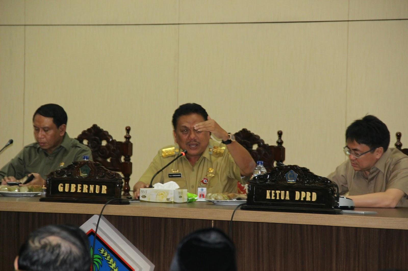 Permalink ke Di Depan Komisi II DPR RI, Olly : Sudah 81 Charter Fligt ke Manado