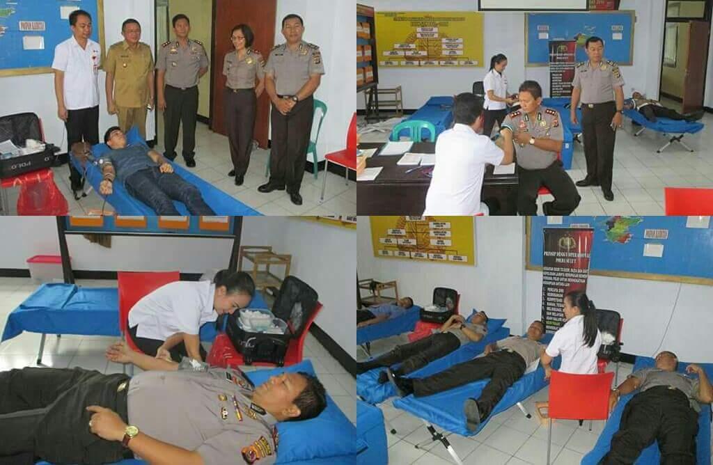 Permalink ke Polres Minut Donor Darah di Velentine Day