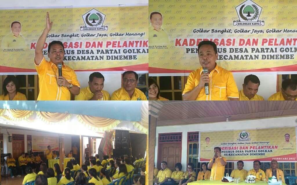 Permalink ke Pengurus Desa Partai Golkar se-Kecamatan Dimembe Dilantik