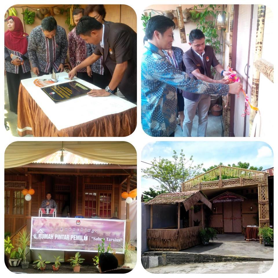 "Permalink ke KPU Kota Bitung Lauching Rumah Pintar Pemilu ""Sabua Tarsius"""