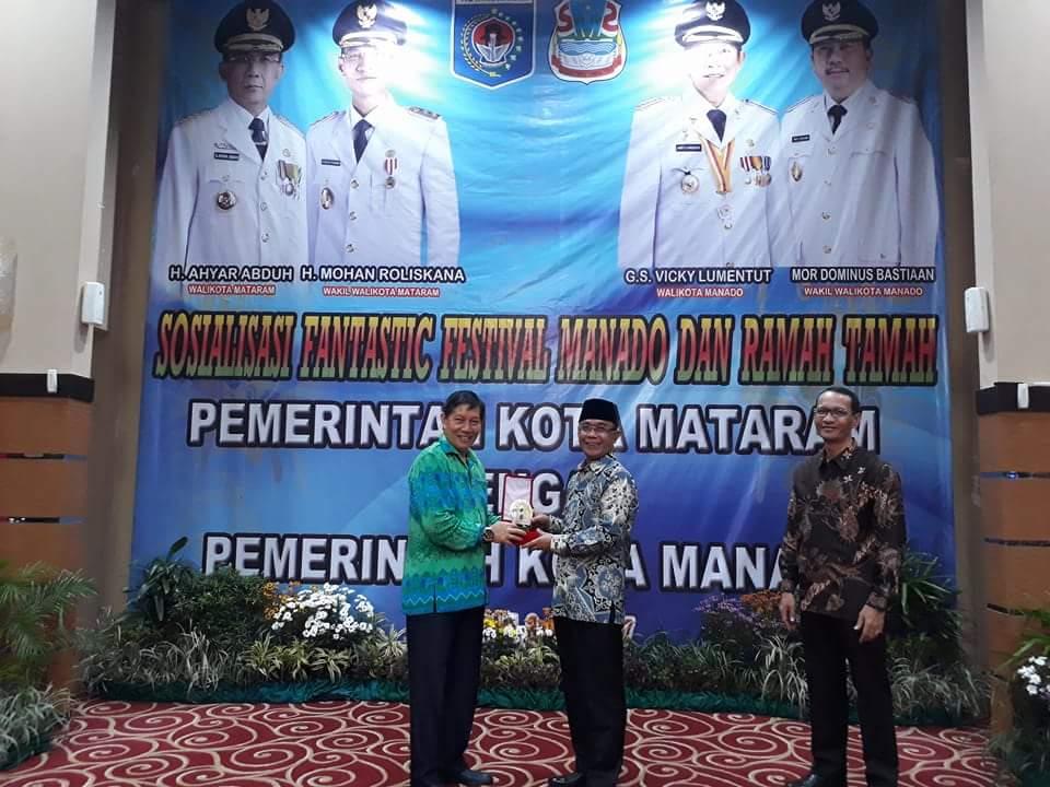 Permalink ke Sambut Rombongan Pemkot Manado, Ini Ungkapan Walikota Mataram Tentang GSVL