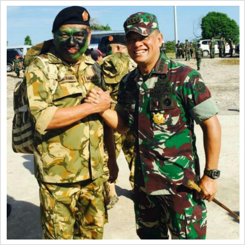 """Permalink ke """"NKRI Harga Mati, Bangun Jiwa Korsa"""", Gubernur Olly Ikut Latihan Perang di Natuna"""