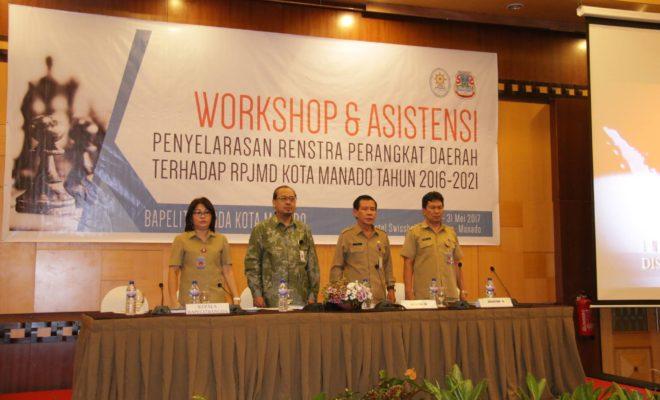 Permalink ke Bapelitbang Manado Gelar Workshop Dan Asistensi RPJMD Kota Manado Tahun 2016-2021