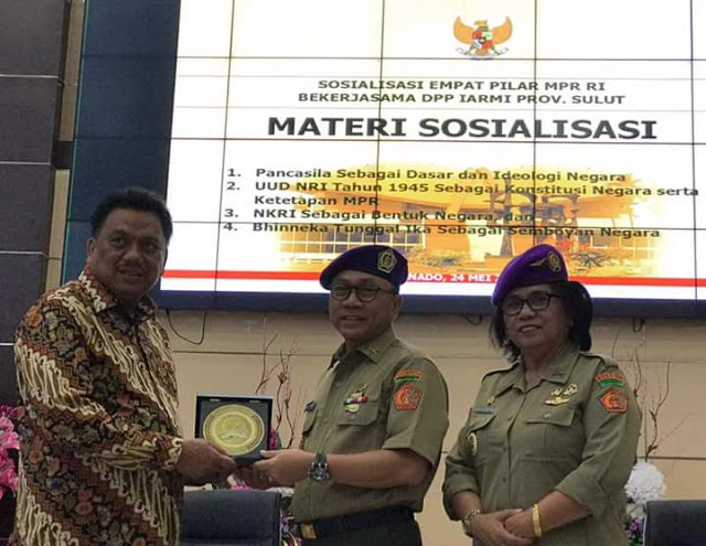 Permalink ke Dihadapan Ketua MPR RI, OD Tegaskan Empat Pilar Harus Diperkuat