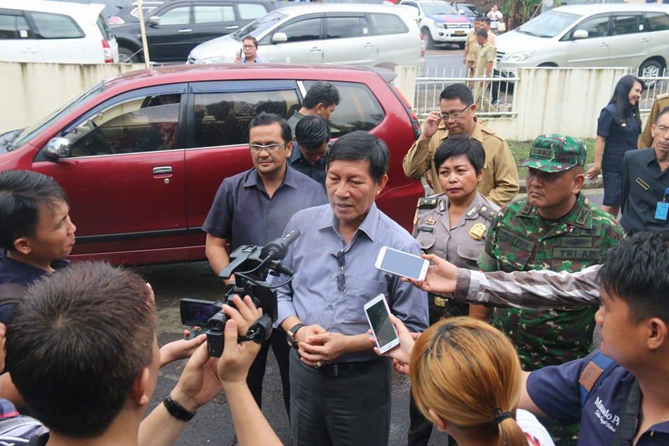 Permalink ke Pembangunan RSUD Manado, GSVL Ingatkan  Kontraktor dan Konsultan