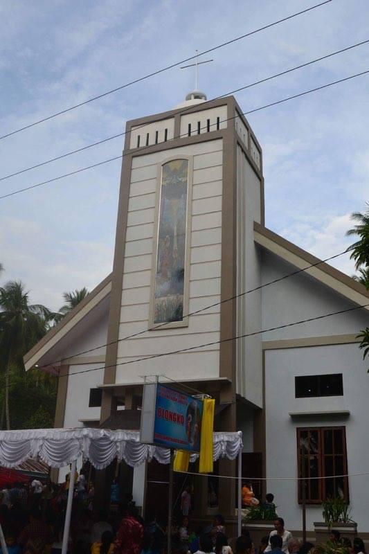 Permalink ke Gereja Katolik Stasi Santa Maria Blongko, Berawal Dari Satu Orang Umat