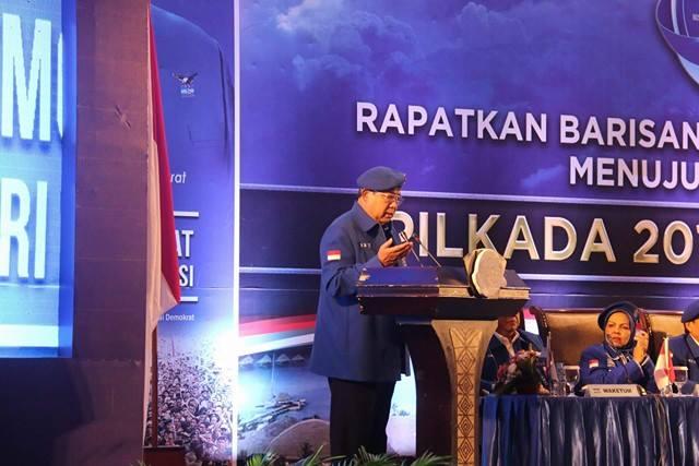 Permalink ke SBY Tegaskan Sikap Demokrat Dukung Langkah KPK Berantas Korupsi