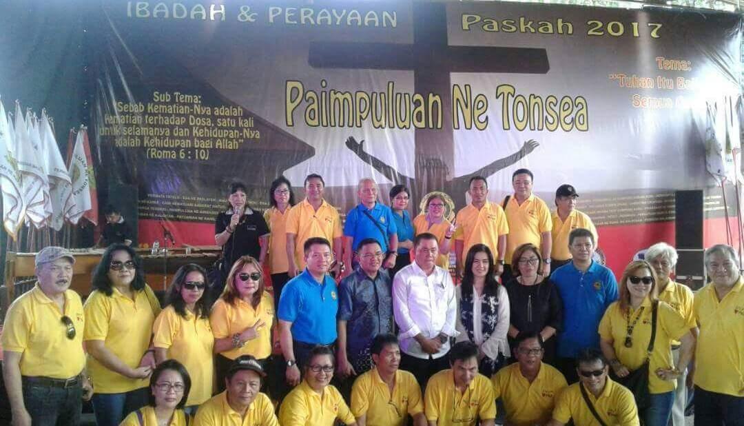 Permalink ke Hadiri Ibadah Paskah Paimpuluan Ne Tonsea Di Jakarta, Ini Pesan Wabup Lengkong