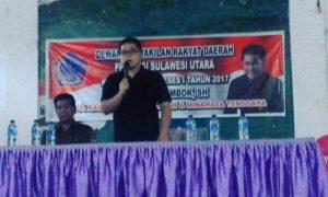 Disambut Antusias, Lombok Siap Kawal Aspirasi Warga Minsel