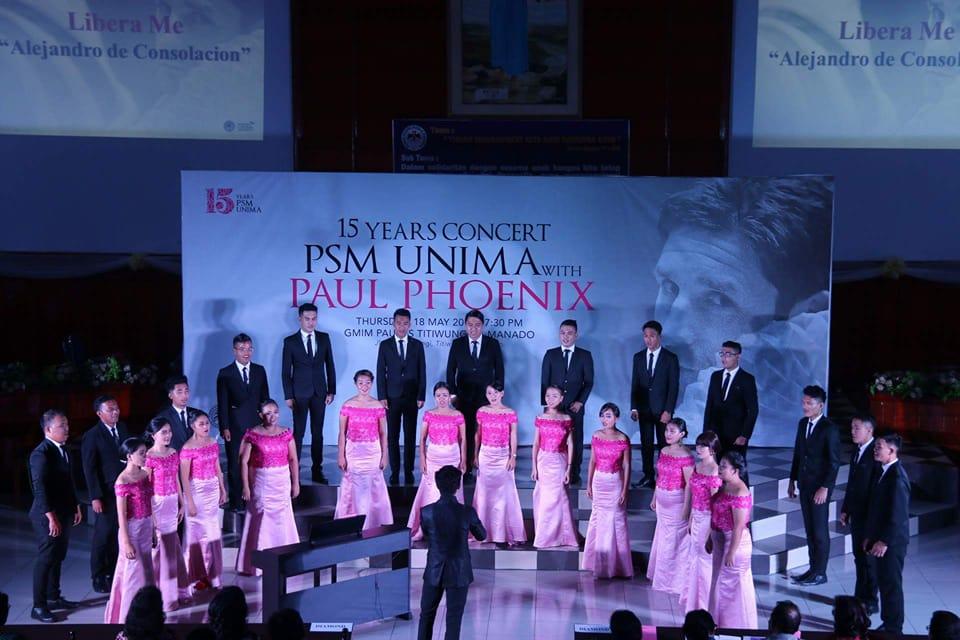 Permalink ke 15 Tahun PSM UNIMA, Gelar Konser Hadirkan Paul Phoenix