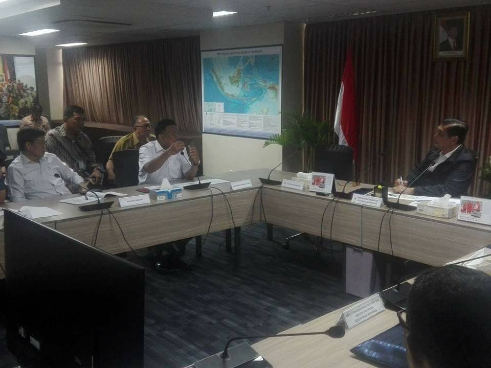 Bahas Taman Laut Bunaken, OD dan GSVL Temui Menko Kemaritiman