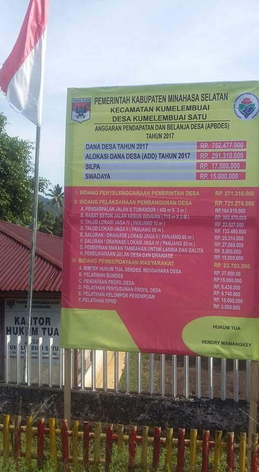 Warning Kades, Tetty : Dandes di Minsel Jangan Ada Penyimpangan