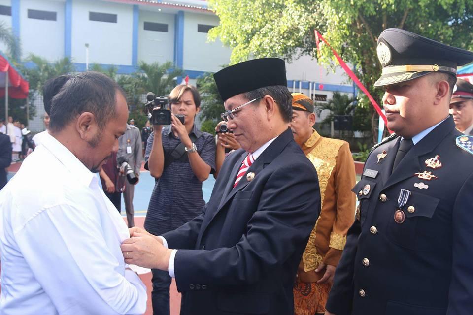 Serahkan SK Remisi di Rutan Malendeng, Ini Harapan Walikota GSVL
