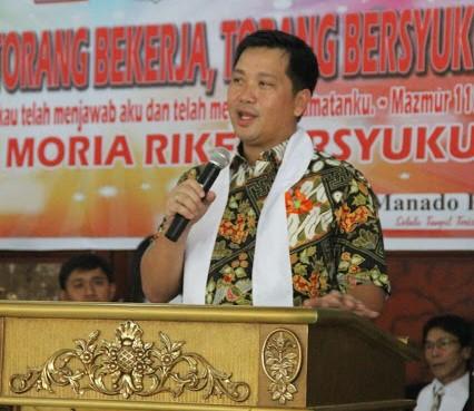 Pengucapan Syukur Manado, Ini Pesan Wagub Kandouw