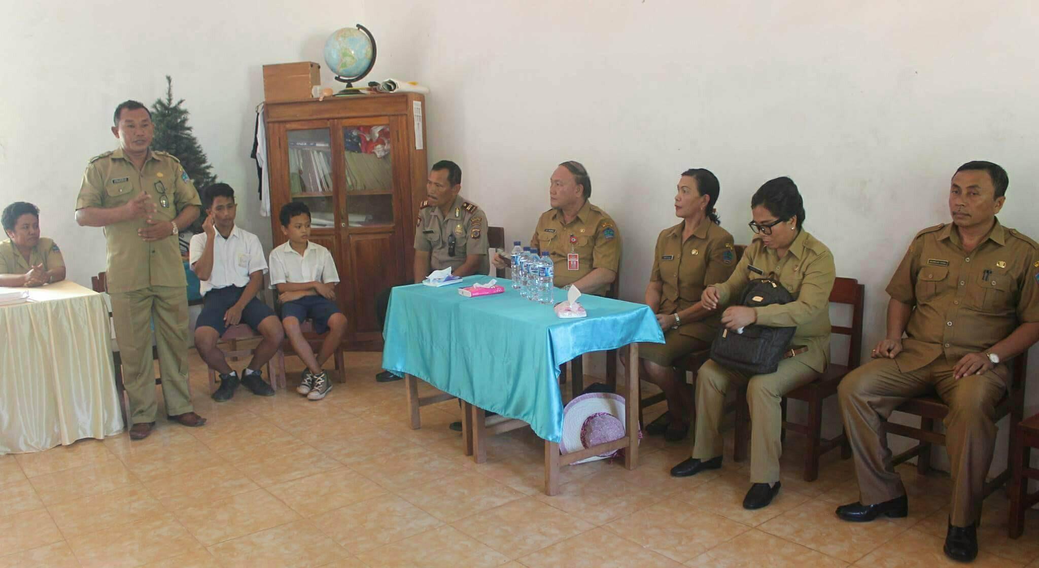 Peras Tenaga Siswa, Kepsek  SMP Nasional Kahuku Minta Maaf