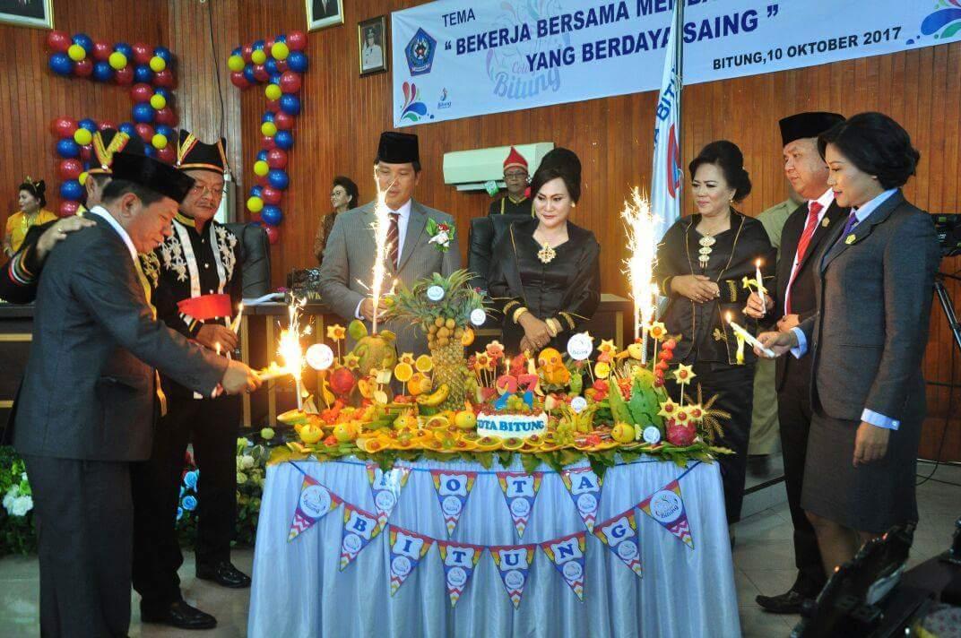 HUT Kota Bitung ke-27, DPRD Gelar Rapat Paripurna Istimewa