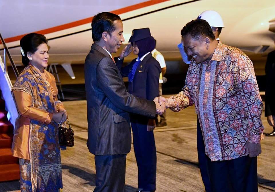 Buka Kongres Trisakti GMNI ke 20, Usai Ikut KTT Asean Presiden Jokowi Langsung Terbang ke Manado