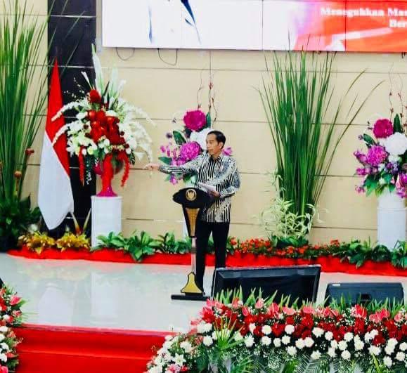 Soal Keadilan Pembangunan, Jokowi : Luar Jawa Juga Prioritas