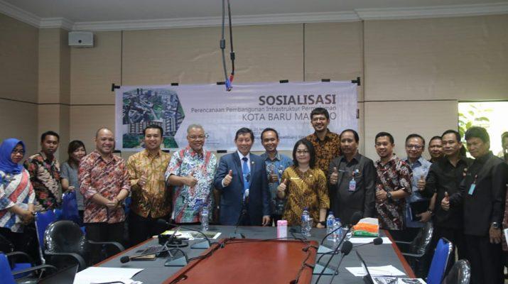 Permalink ke Gandeng Kementerian PUPR RI, Bapelitbang Gelar Sosialisasi Walikota GSVL Dorong Terwujudnya Kota Baru Manado