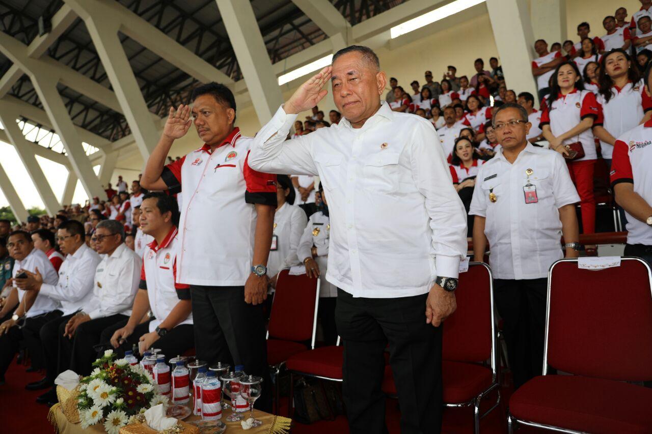 Permalink ke Semarak Gebyar Aksi Bela Negara di Stadion Maesa Tondano