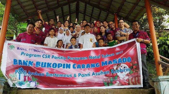 Permalink ke Dalam Rangka Natal, Bank Bukopin Salurkan CSR di Dua Panti Asuhan