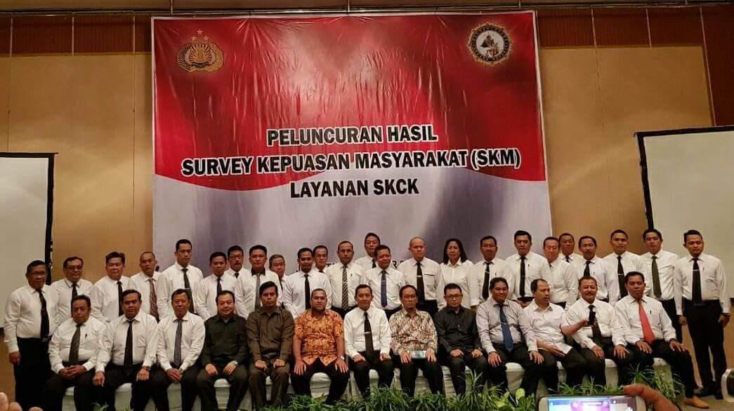 Permalink ke Polres Minut Peringkat 4 Se-Indonesia Kategori OTS Pelayanan SKCK