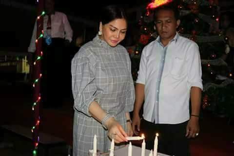 Permalink ke Pra Natal GERINDRA Sulut, VAP: Sukacita Harus Ada Disetiap Saat