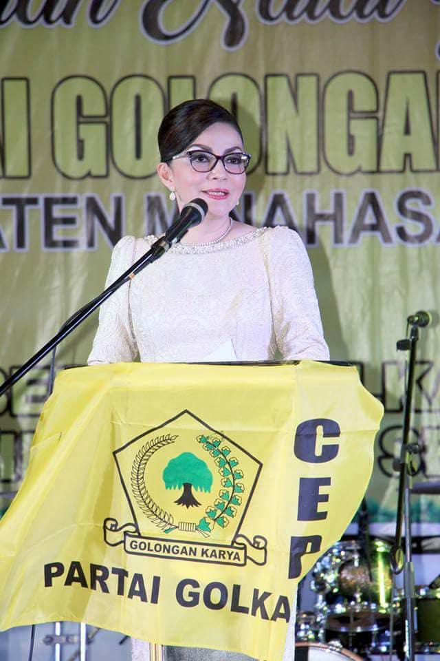 Permalink ke Warning Kader Beringin, Tetty : Tidak Dukung Keputusan Partai Silakan Keluar