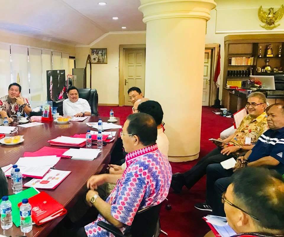 """Permalink ke Olly Dondokambey Perpendek Proses Perijinan, Sulut Bakal Jadi """"Surga"""" Investor"""