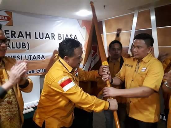 Permalink ke Gelar Musdalub, Jackson Kumaat Nahkodai Ketua DPD Partai Hanura Sulut