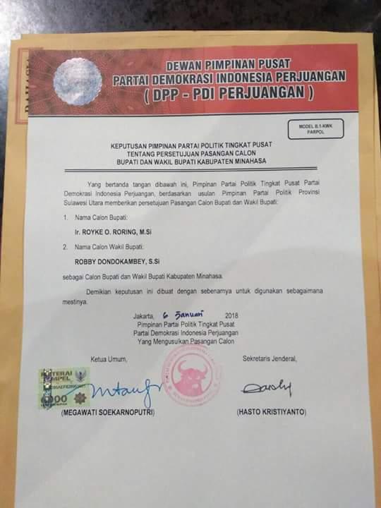 Permalink ke Sah..!!! SK ROR-RD Untuk Pilkada Minahasa Viral di Medsos