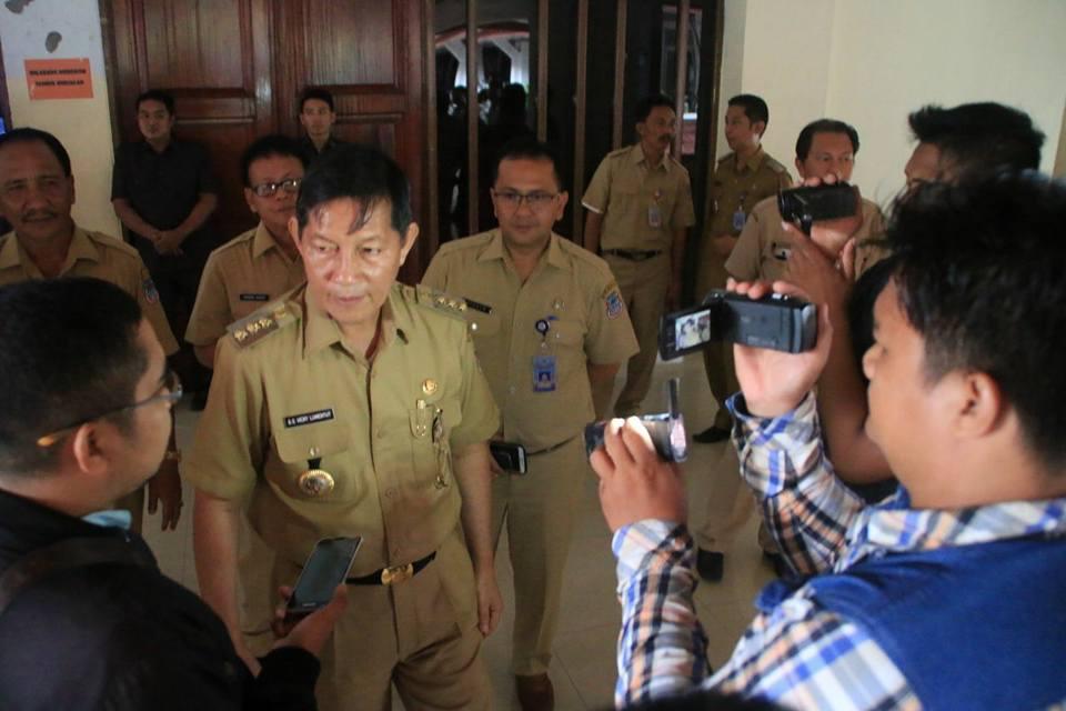 Permalink ke Walikota GSVL Larang Pejabat Pemkot Manado Keluar Daerah