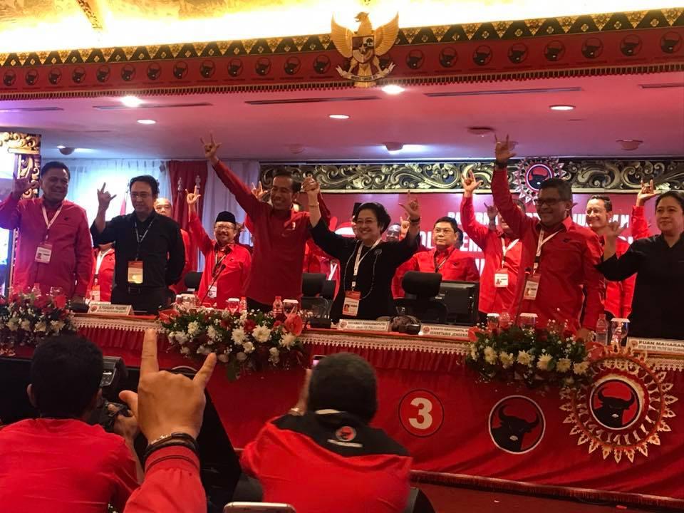 Permalink ke PDIP Resmi Usung Jokowi di Pilpres 2019